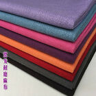 Thickening Cotton Fine Linen Solid Color Pillow Car cushion Sofa Fabric For Diy