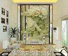 3D Delicate Peony Flowers 73 Wallpaper Decal Decor Home Kids Nursery Mural  Home