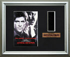 LETHAL WEAPON   Mel Gibson - Danny Glover   FRAMED MOVIE FILMCELLS