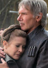 CARRIE FISHER 44 WITH HARRISON FORD (PRINCESS LEILA STAR WARS) CAST PHOTO PRINT