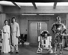 CARRIE FISHER 57 WITH MARK HAMILL (PRINCESS LEILA STAR WARS) CAST PHOTO PRINT