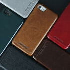Pierre Cardin Genuine Leather Back Skin Case Cover For Apple iPhone 7 / 7 Plus