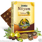 Zandu Nityam Herbal Tablets for Gas Flatulence Constipation Natural Herbs