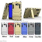 Heavy-Duty Dual Layer Armor Skin Case Cover For Samsung Galaxy Note 5,N920A