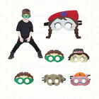 SuperWhy Masks - Felt masks for Kids Halloween Costume Birthday Party Favor