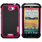 Shockproof IMPACT Rugged Dual Layer Hybrid Armor for HTC One X Case Cover