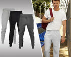 MENS FLEECE JOGGERS TRACKSUIT BOTTOMS SWEAT JOGGING COTTON PANTS ZIP POCKETS NEW