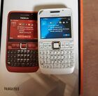 Nokia E63-1 Wifi 3G Camera Mobile Phone White (Optus)/ M.Black PP(Virgin) comprar usado  China