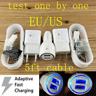 Travel Wall LED Car Charger Micro USB Cable for Samsung Galaxy S7 EDGE Note 5/4