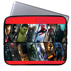 Marvel Characters Laptop Case Sleeve Tablet Bag Ultrabook Chromebook Sleeve