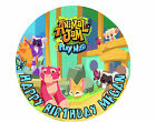 Computer Game Animal Jam Custom Birthday Party Cake Decoration Icing Sheet