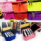 1x Travel Portable 16 bottles Essential Oil Carrying Holder Case Bag 5/10/15m LJ