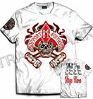 033 Hells Angels NorthSide Spain T-Shirt model 13 Front + Backside + sleeve