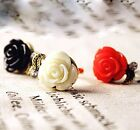 FD313 Women Retro Vintage Princess Queen Ring Rose Flora Flower Rings ~1pc~/