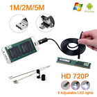 2.0MP 6LED 2in1 Micro USB Android Inspection Endoscope Waterproof Camera HD 1-5M