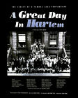 A GREAT DAY IN HARLEM WITH DIZZY GILLESPIE (FILM POSTER) PHOTO PRINT 01