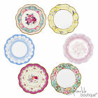 Vintage/Shabby Chic PAPER PLATES -Tea Party-FULL TRULY SCRUMPTIOUS RANGE IN SHOP
