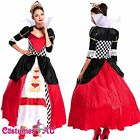 Deluxe Disney Queen of Hearts Alice in Wonderland Costume Movie Fancy Dress
