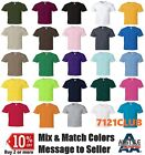 Lot 5 Pack Alstyle Apparel AAA T Shirt 1301 Mens Plain Basic Short Sleeves S-5XL image