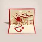 3D Card Handmade Valentine's  Day Diy Paper-cut Creative Cards Greeting Card