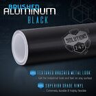 Brushed Aluminum Metallic Vinyl Film Wrap Sticker Decal Bubble Free Air - Custom
