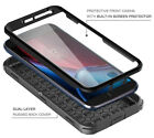 NEW RUGGED ARMOR PROTECTIVE SHOCKPROOF CASE COVER with BUILT-IN SCREEN PROTECTOR
