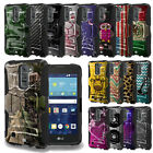 Rugged Shockproof Armor Case w/Stand+Holster Clip Cover for LG Models