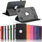 "Rotating Cover Case For 7 Inch Astro Queo A712 RCA 7"" Voyager LG G Pad 7"" Tablet"