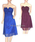 Blue Purple Cocktail Party Dress Size 10 12 14 16 18 20 22 New