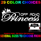 average size girls - OFF ROAD PRINCESS DECAL COUNTRY STYLE GIRL DIXIE  STICKER FOR JEEP 4X4 CROWN