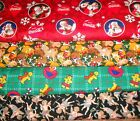 CHRISTMAS #8  FABRICS Sold INDIVIDUALLY NOT AS A GROUP By the HALF YARD