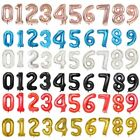 GOLD,SILVER BALLOONS FOIL 16,18,32,40 INCH NUMBERS,HAPPY BIRTHDAY ,HELIUM