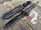 "12"" MILITARY Marine Hunting TACTICAL Combat SURVIVAL KIT Knife Fixed Blade"