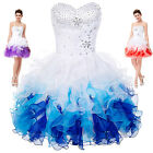 Short Wedding Evening Party Gown Prom Formal Cocktail Bridesmaid Dress Stock New