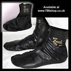 Halal - Islamic Leather Socks: ( Azad Black Khuffs, Khuffain ) Size : 4 - 12