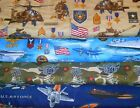 MILITARY #3  FABRICS Sold INDIVIDUALLY NOT AS A GROUP By the HALF YARD