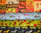 WIENIE WEINIE DOGS #3  FABRICS Sold INDIVIDUALLY NOT AS A GROUP By the HALF YARD