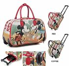 Ladies Women Minnie Mouse Luggage Travel Bags Weekend Bag Cabin Holdall Disney