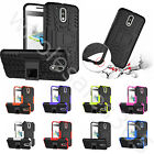 Hot Heavy Duty 3D Bulge Case With Kickstand Shockproof Cover For Various Phones