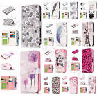 3D Basso Relievo Leather Wallet Case Multi Card Slot Stand Cover For New Phones
