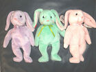 TY Beabie Babies,HIPPITY,HOPPITY,FLOPPITY, Brand New with Tags,3 BUNNIES,EASTER