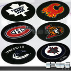 "NHL Canadian Hockey Logo Teams Puck Shaped 27"" Round Carpet Floor Mat Area Rug on eBay"
