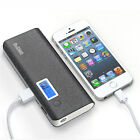 Portable USB 50000mAh External LCD Power Bank Battery Charger For Mobile Phones