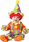Cuddly Clown Infant Costume Circus Jumpsuit InCharacter Toddler