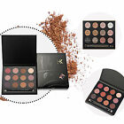 Professional Eyeshadow Matte Smoky Eye Shadow 12 Colors Shimmer Palette Makeup