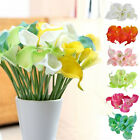 Artificial Calla Lily Tulip Real Touch Fake Flower Home Decor Bouquet Party DIY