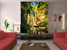 3d Cliff Falling Streams 1196 Wallpaper Decal Decor Home Kids Nursery Mural Home