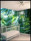3D Tropical Rainforest 1187 Wallpaper Decal Decor Home Kids Nursery Mural  Home