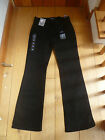 MARKS AND SPENCER SMART BLACK BOOTCUT BOOTLEG JEANS STRETCH 8 MEDIUM BNWT