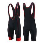 Men's Summer Cycling Bib Shorts Bike Bicycle Downhill Tight Shorts With Gel Pad
